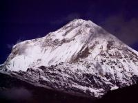 Dhaulagiri Close Up From Choya